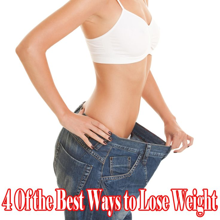 What the best ways to lose weight
