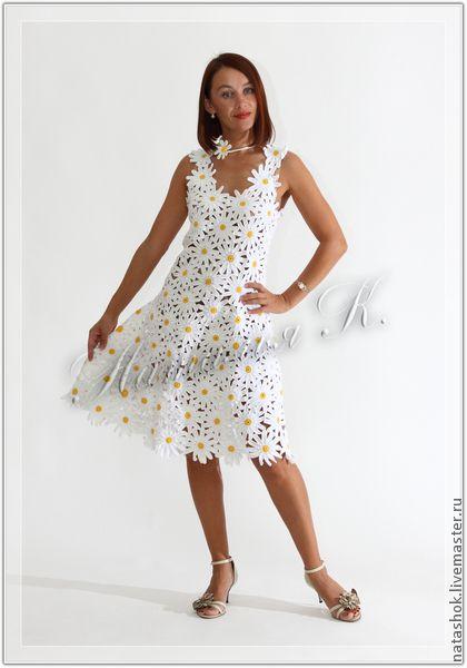 Фото платья из ромашек