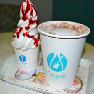 Le chocolat chaud à emporter | Paris - Eat out | Pinterest
