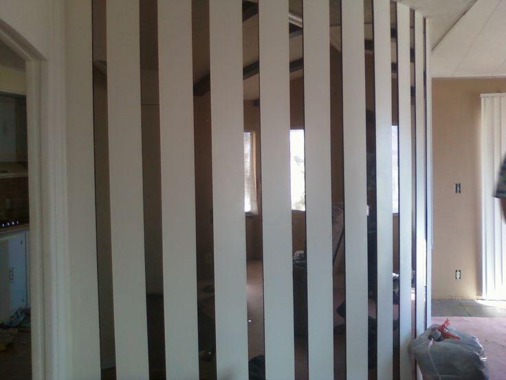 Wall Mirror Strips Living Room Pinterest