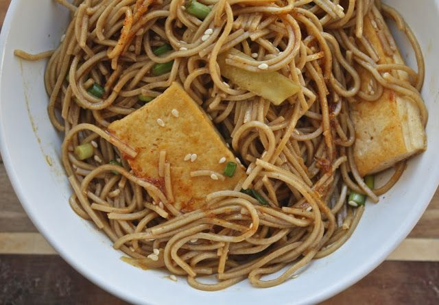 Sesame Noodle Salad With Tofu Recipes — Dishmaps