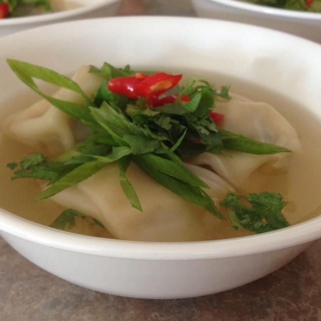 Korean pork dumpling soup!   Savory   Pinterest