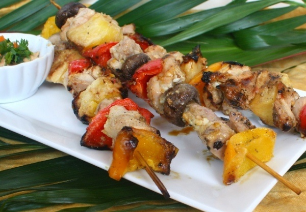 Asian Chicken skewers | food | Pinterest