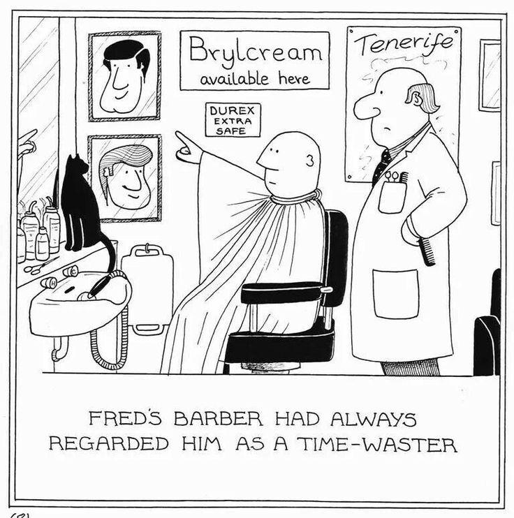 fred barber joke esol pinterest