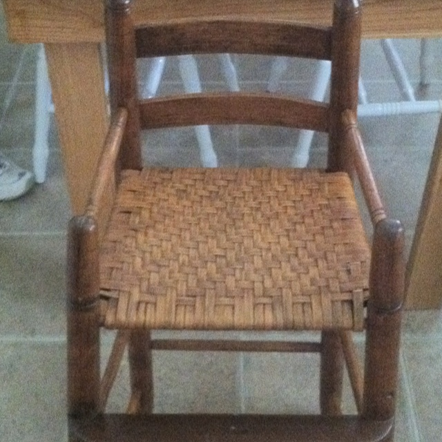 Re-Caned baby high chair  Recaning  Pinterest & how to recane a chair seat » Thousands Pictures of Home Furnishing ...