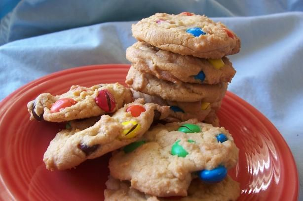 and chewy m amp m cookies used butter 1 2tsp salt amp baked at 300 for ...