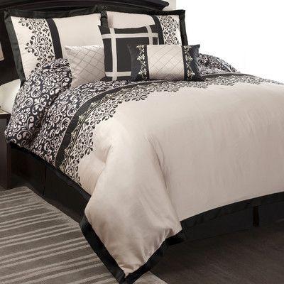 black and cream bedding my bedroom pinterest
