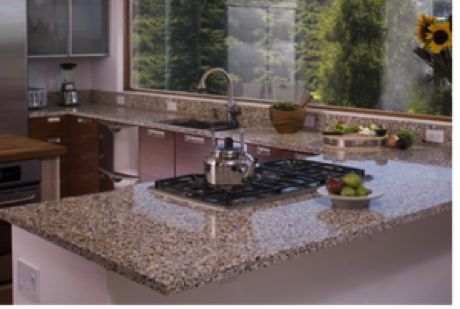 Pin by on creative kitchens pinterest - Glass kitchen countertops pros and cons ...