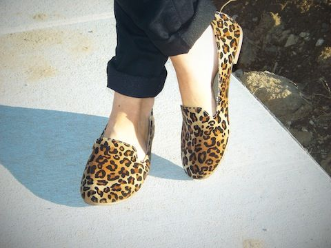 Fall Fashion 2013: Cheetah Loafers. My mom just bought these at target!