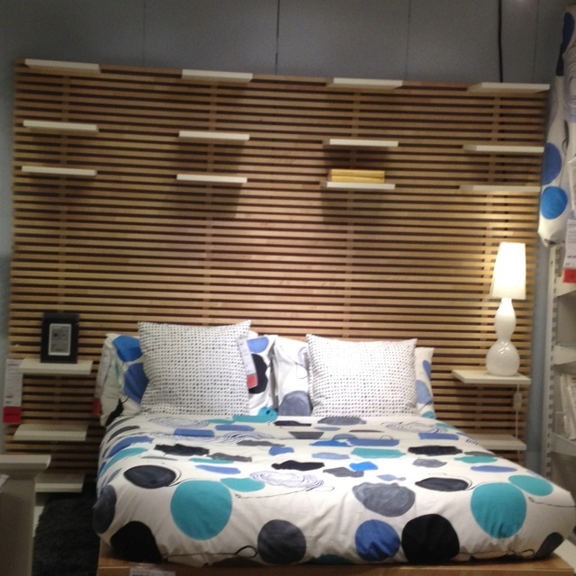 Ikea Glasvitrine Mit Beleuchtung ~ Mandal Headboard from Ikea  king bedroom  Pinterest