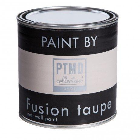 Verf - Muurverf Fusion Taupe 0,75L  Kleur en sfeer  Pinterest