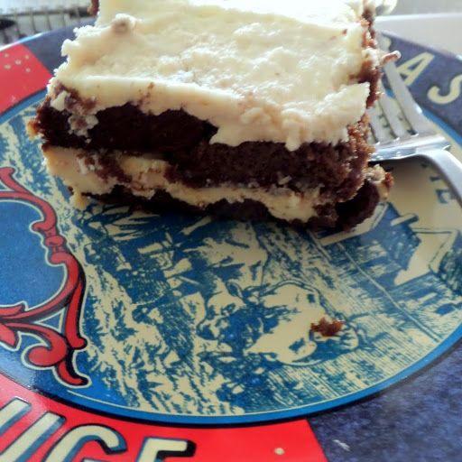 Chocolate Pound Cake Tiramisu: Chocolate pound cake soaked in rum and ...