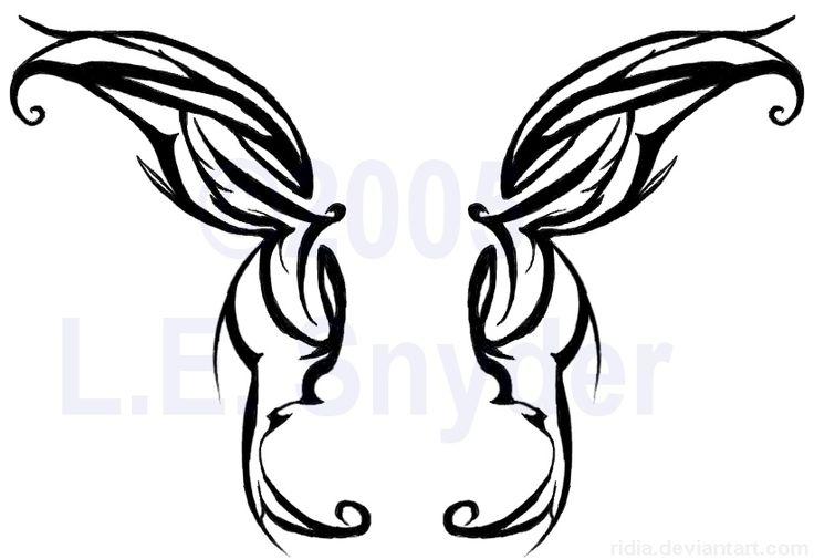 tribal butterfly wings | Inspiration | Pinterest