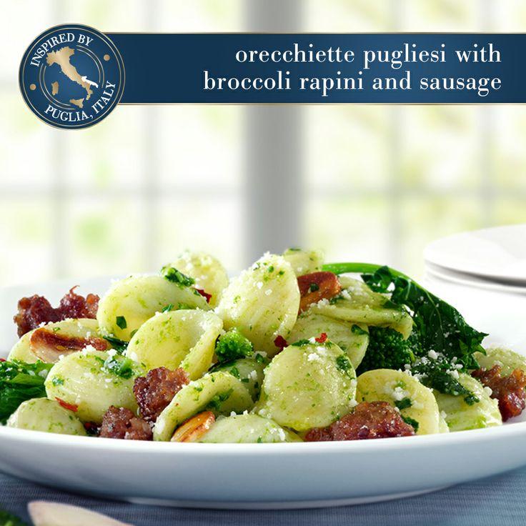... this recipe for Orecchiette Pugliesi with Broccoli Rapini and Sausage