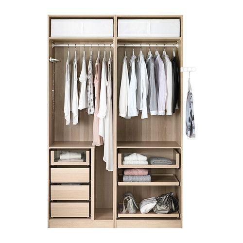 PAX Wardrobe IKEA interior.  Wardrobe  Pinterest