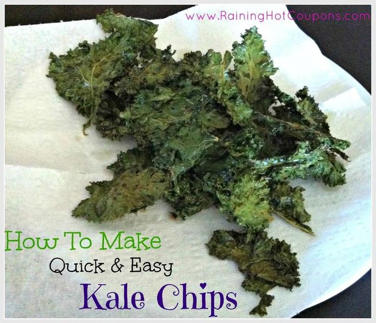Quick & Easy Kale Chips | Recipe