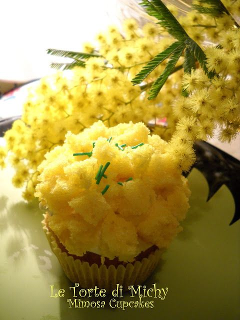 Mimosa Cupcakes | Cake | Pinterest