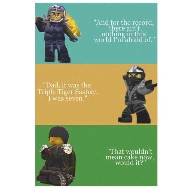 Abraham Lincoln Lego Movie Quote