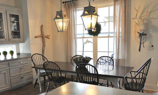 sally wheat kitchen wiht driftwood cross  Design Kitchens I Love  P