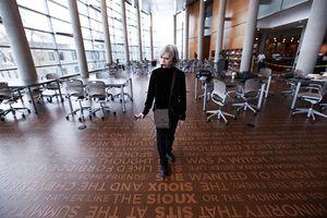 Artist Ann Hamilton Talks About Installing Words in Public Places