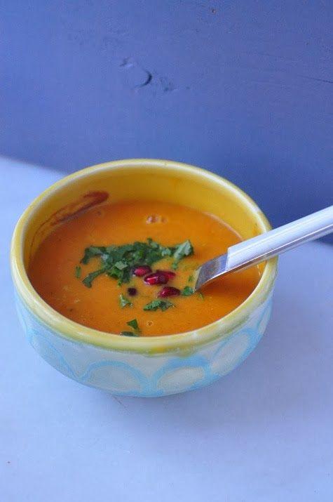 carrot_Lentil_Ginger_soup | Bon Appetit | Pinterest