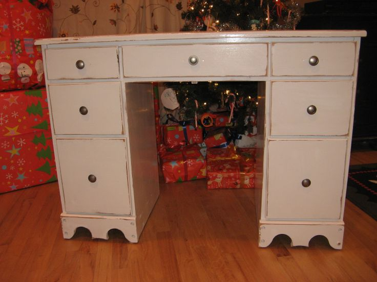 Pretty Painted Desk For Christmas Painted Prairie