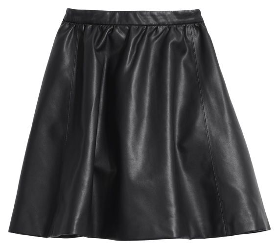 h m leather skirt clothes