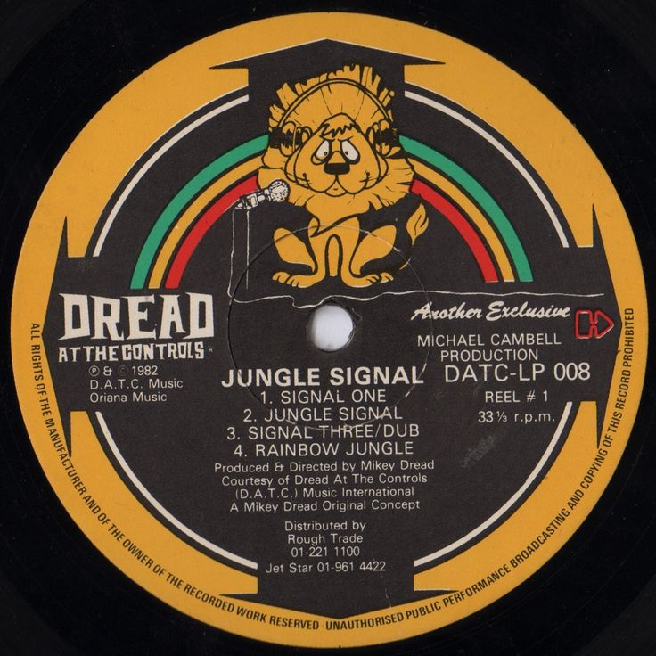 Mikey Dread Jungle Signal
