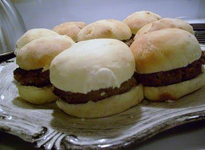 Easy Homemade Hamburger Buns   Yummies!   Pinterest