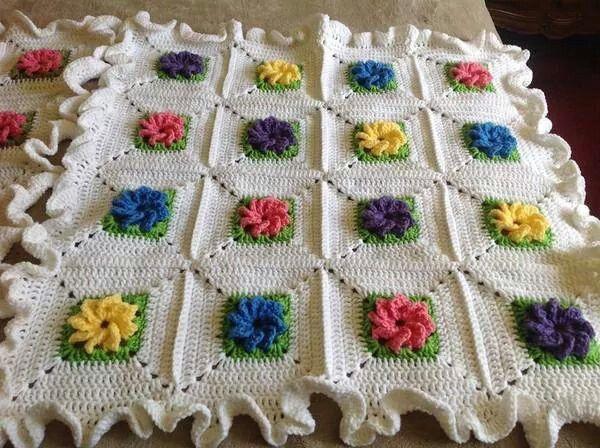 Afghan Crochet Pinterest