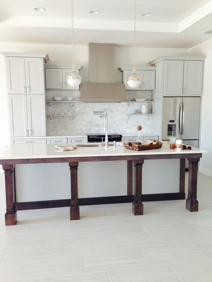 Gray kitchen  Cbc  Pinterest