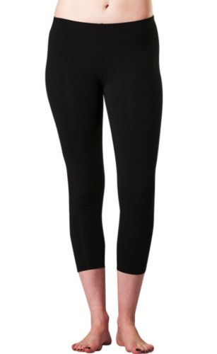 Our 3/4 Cropped Bamboo Leggings by O2Wear are another classic piece to