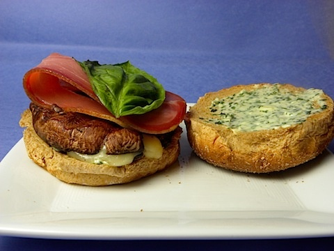 Try out these tasty Portobello-Prosciutto Burgers from We Are Not ...