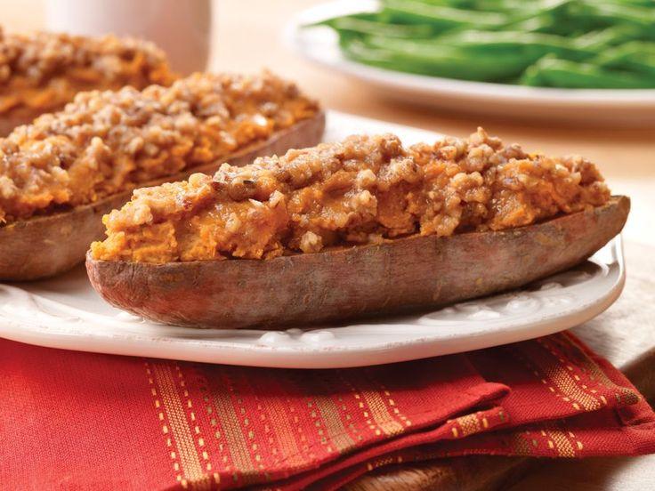 Twice Baked Sweet Potatoes | Recipe