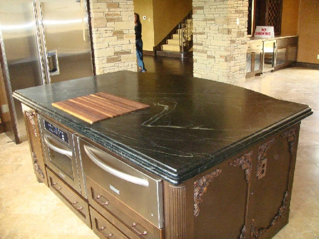Soapstone countertops Dream Home Pinterest