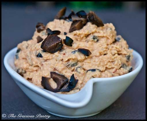 Clean Eating Sun Dried Tomato And Olive Hummus (Click Pic for Recipe ...