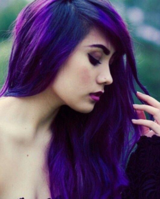 Purple Hair Hair Pinterest