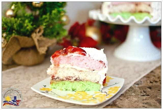 Neapolitan Christmas Cake | Christmas Cake Ideas | Pinterest