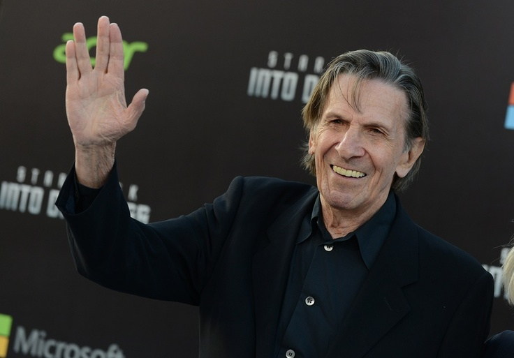 Leonard Nimoy is the only person who should do Vulcan salute