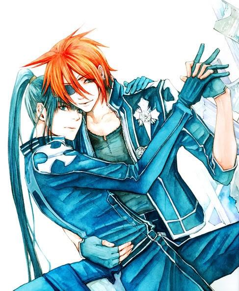 Lavi x Kanda (D.Gray-man) | FAV animes and games and cartoons | Pinte ...