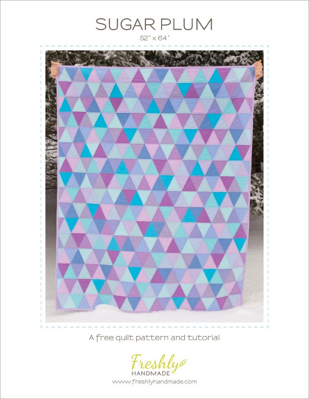 Triangle Quilt Patterns Free