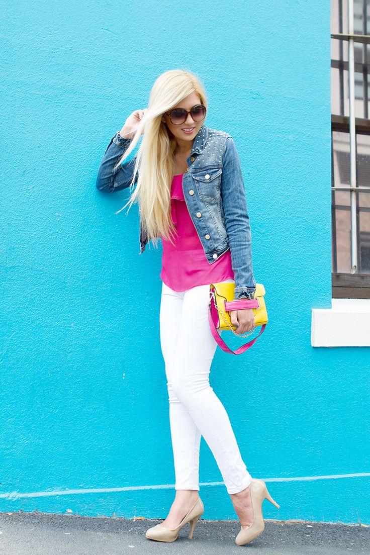 Zara White Studded Blouse 120