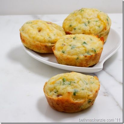 Cheddar Bacon Chive Muffins | Food | Pinterest