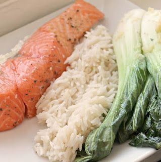... bok choy recipe yummly spicy salmon with bok choy and rice recipe real