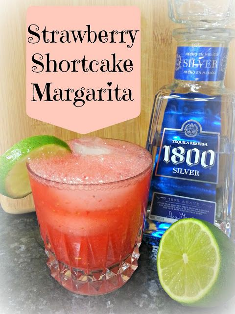 Strawberry Shortcake Margarita | Brandy's Board | Pinterest