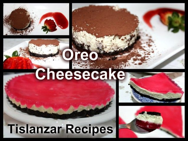 No-Bake Oreo Cheesecake | oreo | Pinterest
