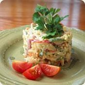 Orzo Salad With Zucchini, Mint And Yogurt Cheese - Stonyfield Farm # ...