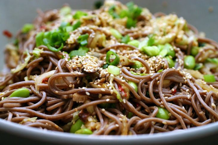 ... chickpeas cabbage and soba noodles spicy soba noodles with shiitakes