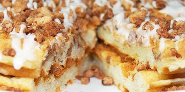 Iced Cinnamon Praline Waffle...mmm... | sweet ssshh... | Pinterest
