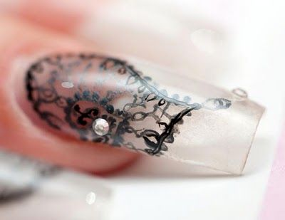 Modern and stylish nail art design to force your performance.